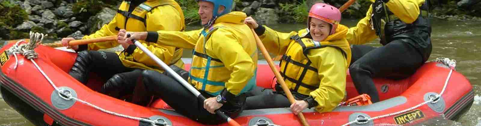 Captivate Adventure white water rafting