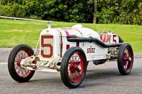 white red car credit southward car museum