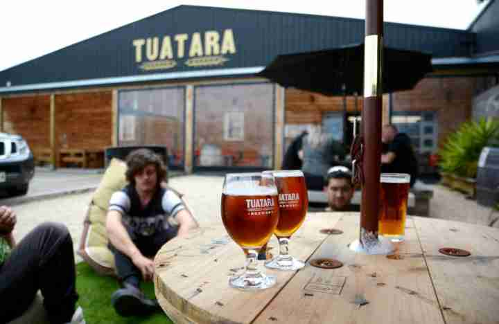 Tuatara tap room brewery frontage